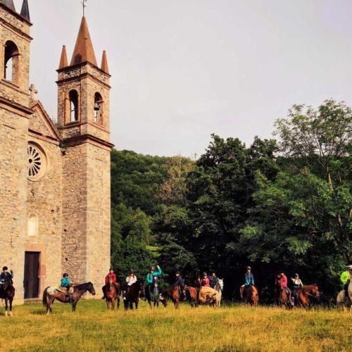 Colonias hipicas la vall de camprodon y barcelona